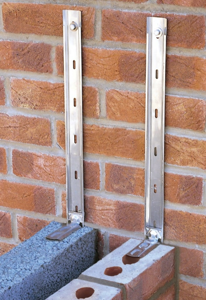 Staifix Universal Wall Starter System Application