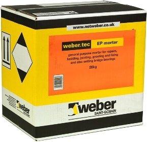 Weber Tec EP Mortar
