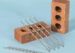 Helical remedial wall ties